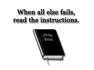 Read-the-Instructions