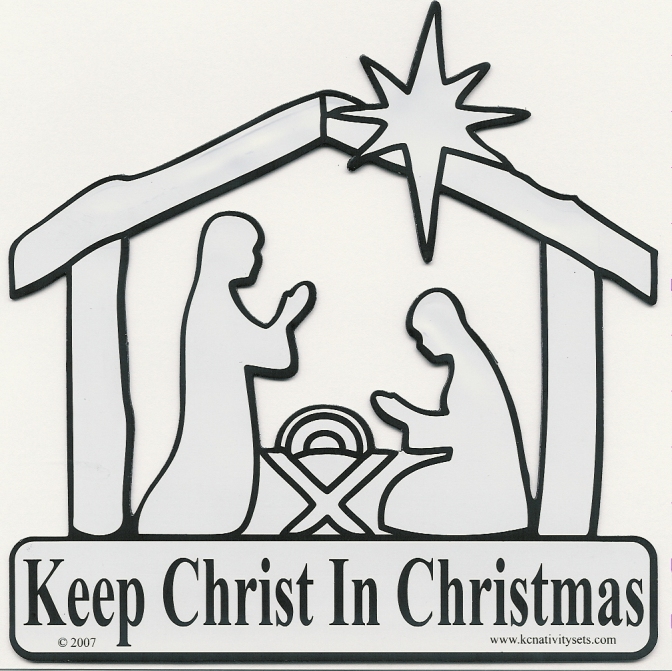 A LOOK BACK: Keep CHRIST in Christmas
