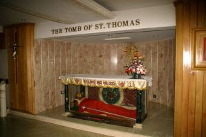 The Tomb of St. Thomas. Mylapore, India.