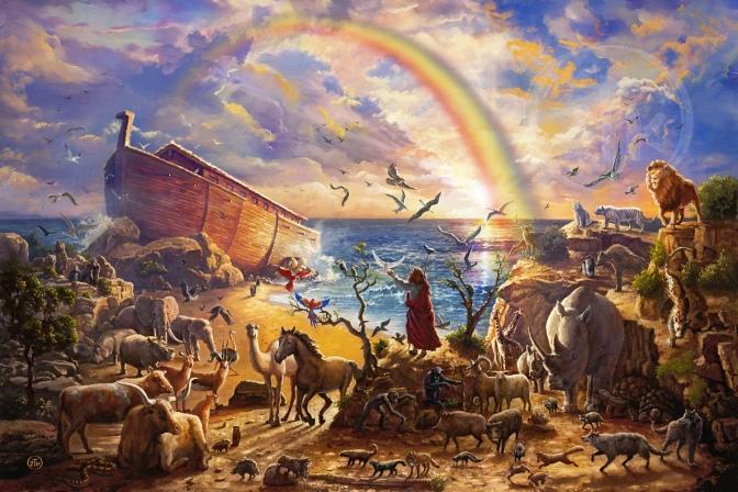 A LOOK BACK: God's People, part 4: Noah