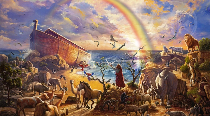 A LOOK BACK: God's People, part 4: Noah
