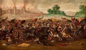 The_Burning_of_Jerusalem_by_Nebuchadnezzars_Army_by_Circle_of_Juan_de_la_Corte