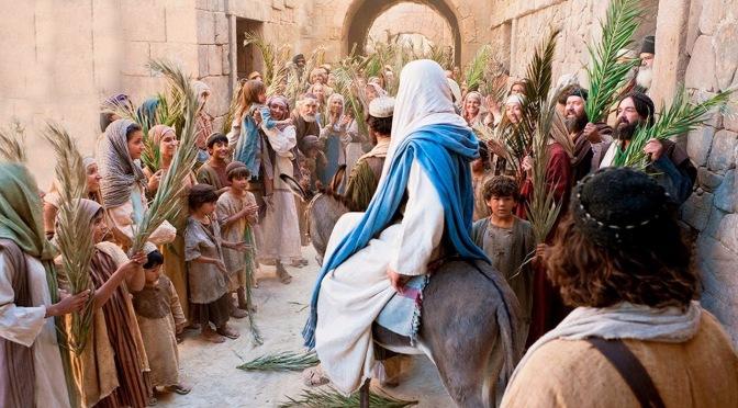 Holy Week 2021: Fulfilled: Palm Sunday