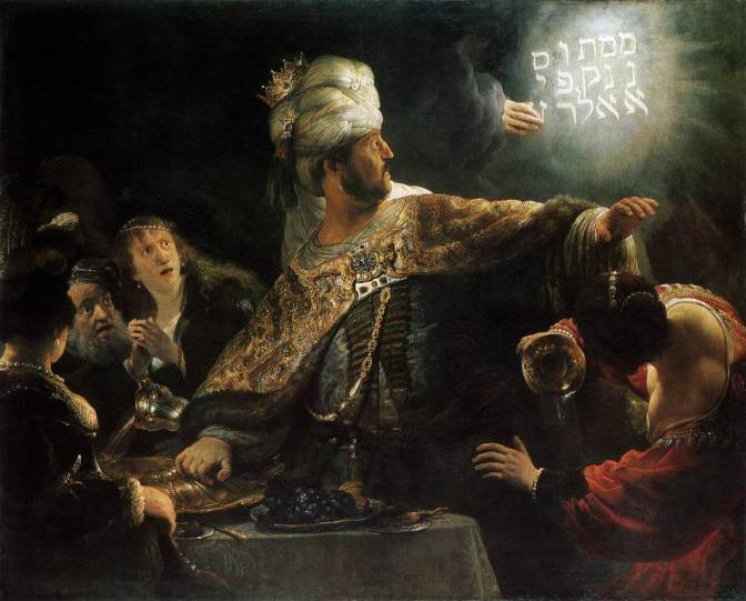 God's People, part 103: Belshazzar