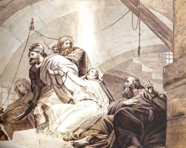 St._Thaddeus,_St._Sandukht_and_other_Christians_in_Sanatruk's_prison